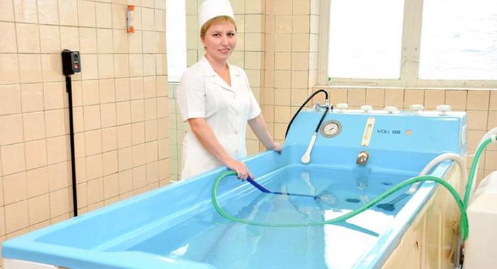 Процедура радонотерапии